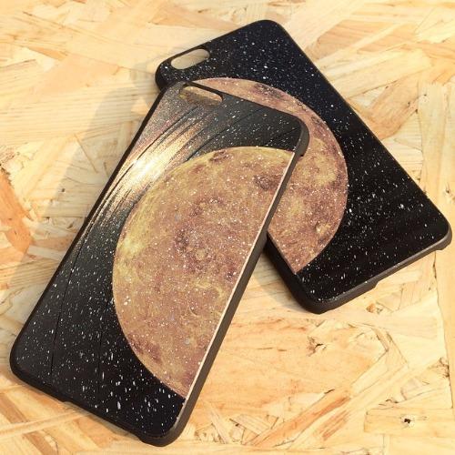 iPhone 5 / 5S / SE 手機殼 金星 黑膠唱片 保護殼【HIRAETH 浪漫星球系列】 (可以刻名)