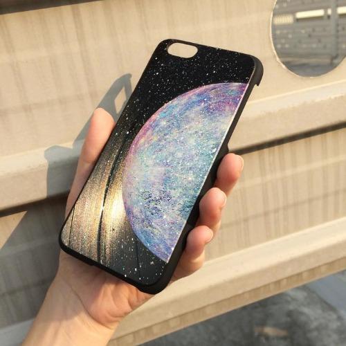 iPhone 6 Plus / 6S Plus 手機殼 彩色 水星 Color Mercury 黑膠唱片 保護殼【HIRAETH 浪漫星球系列】 (可以刻名)