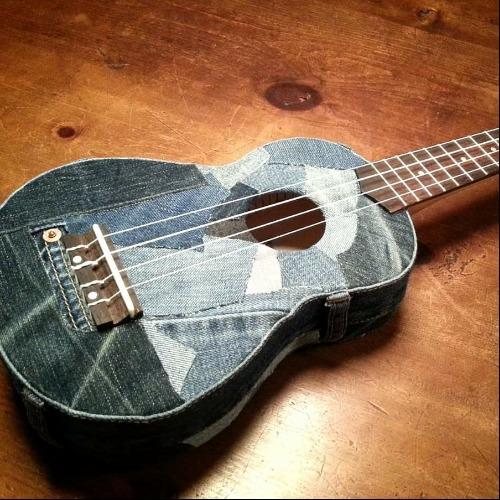Denim Ukulele