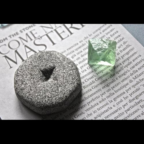 石栽 SHIZAI▲綠螢石原礦(含底座)▲