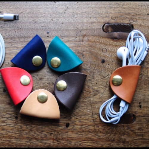 皮革捲線器 繞錢器 整線器 耳機線整理器