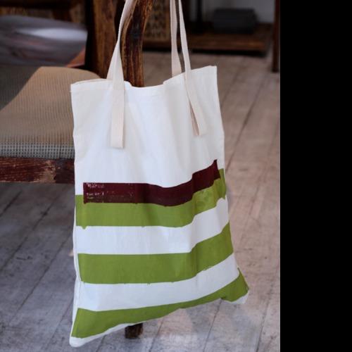 抹茶紅豆 ◆ 環保購物袋