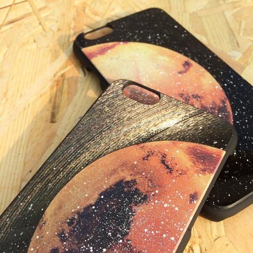 iPhone 6 / 6S手機殼 火星 Mars 黑膠唱片 保護殼【HIRAETH 浪漫星球系列】 (可以刻名)