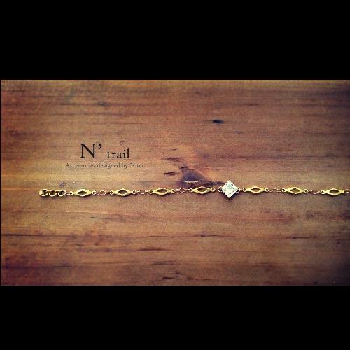 【N' trail】Princess cut - 手鍊