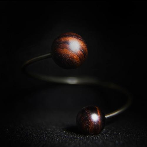 【Hylé Design Macau 】 ORB-it飾品系列木X白銅手環(Gravity引力)