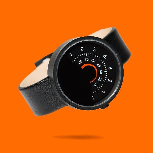 ANICORN 簡約轉盤設計 - 時尚自動機械手錶 Series 000 - BO