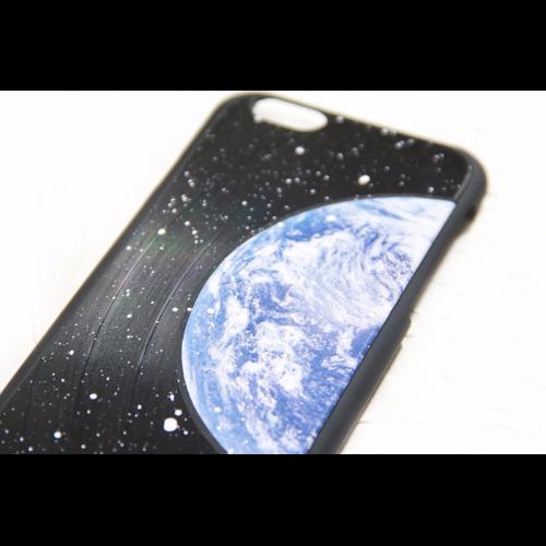 iPhone 6 / 6S 地球 黑膠唱片 手機殼 保護殼【HIRAETH 浪漫星球系列】 (可以刻名)