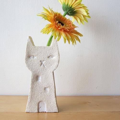 貓房子-白眼睛款 / 花器