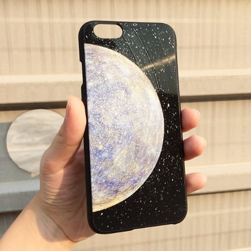iPhone 6 / 6S 手機殼 水星 Blue Mercury 黑膠唱片 保護殼【HIRAETH 浪漫星球系列】 (可以刻名)